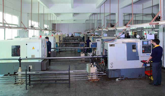 High Speed CNC Machine workShop