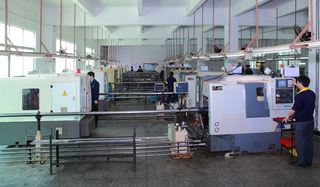 CNC Manufacturing Workshop